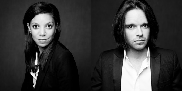 portrait noir et blanc corporate