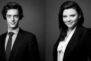 Portraits studio noir et blanc