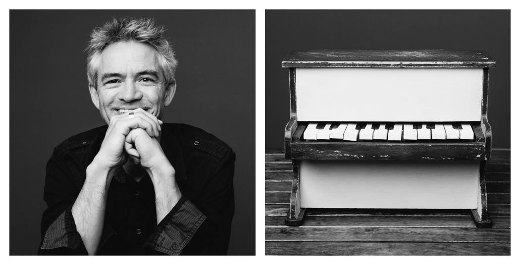portrait tristan lofficial avec un piano