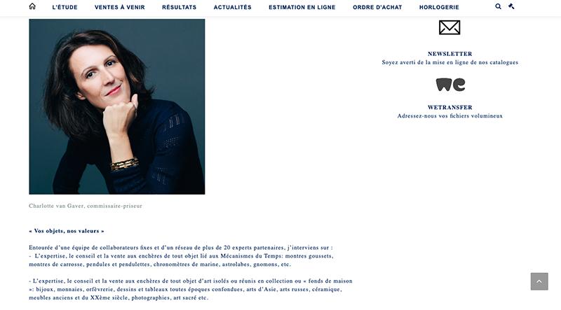 visuel portrait site internet