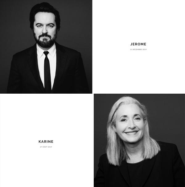 galerie web pour nos portraits