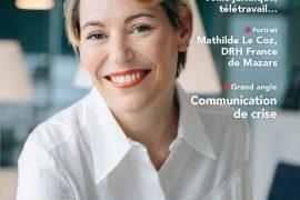 portrait éditorial couverture de la revue Personnel